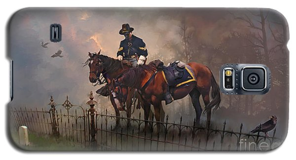 Galaxy S5 Case featuring the painting Fallen Comrade by Rob Corsetti