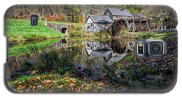 Fallen Leaves At Mabry Mill Galaxy S5 Case