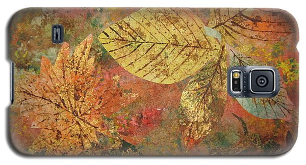 Fallen Leaves II Galaxy S5 Case by Ellen Levinson