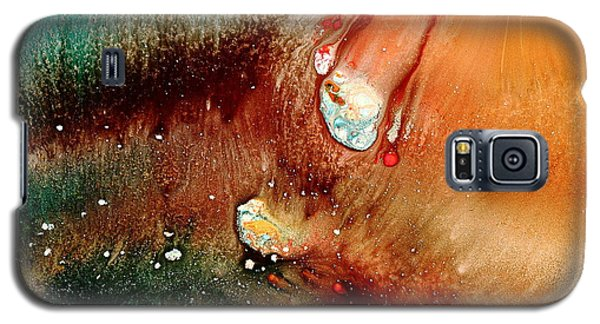 Falling Comet Colorful Abstract Art By Kredart Galaxy S5 Case