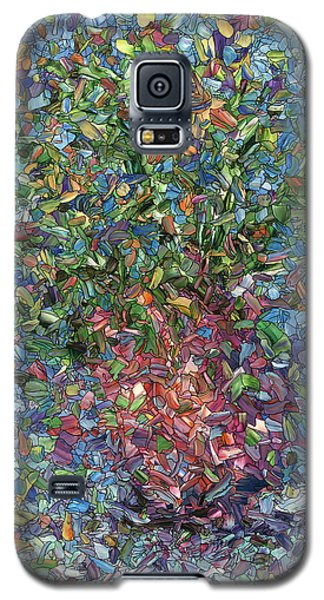 Falling Flowers Galaxy S5 Case