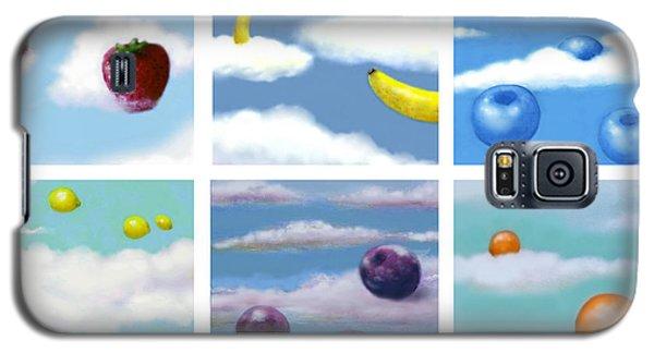 Falling Fruit Group Galaxy S5 Case