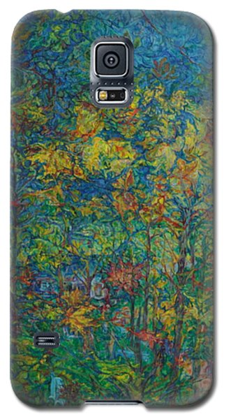 Falling Leaves Galaxy S5 Case