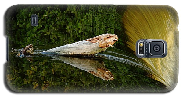 Galaxy S5 Case featuring the photograph Falling Tree Reflections by Debbie Oppermann