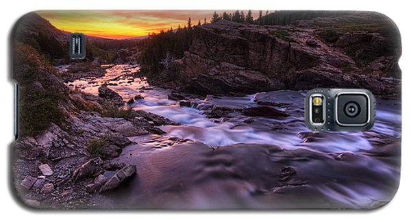Falls At First Light Galaxy S5 Case