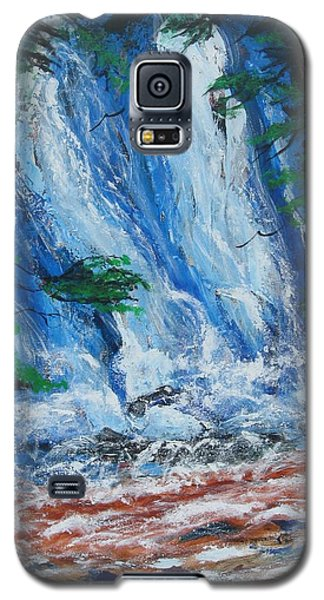 Waterfall In The Forest Galaxy S5 Case