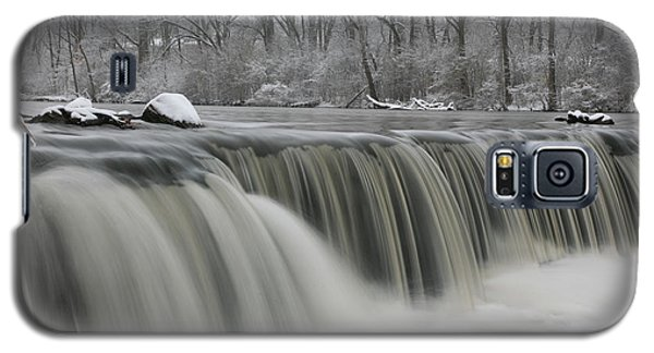 Falls In Winter Galaxy S5 Case
