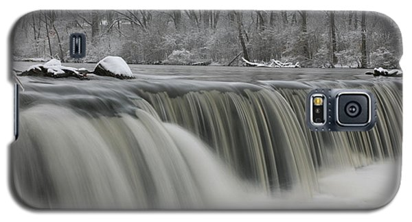 Falls In Winter Galaxy S5 Case