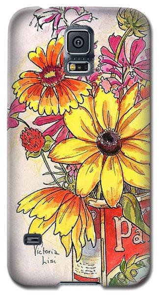 Fall's Last Bouquet Galaxy S5 Case
