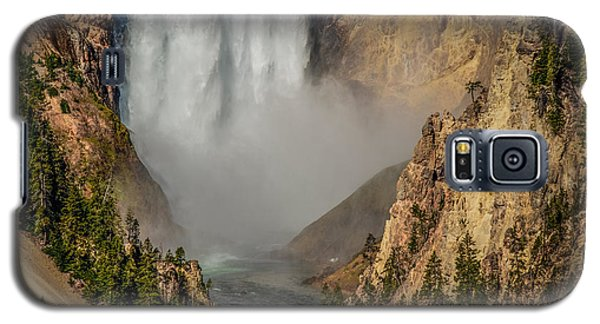 Falls Mist Galaxy S5 Case by Yeates Photography
