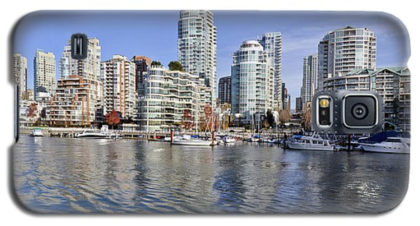 False Creek And Vancouver Galaxy S5 Case by Allen Carroll