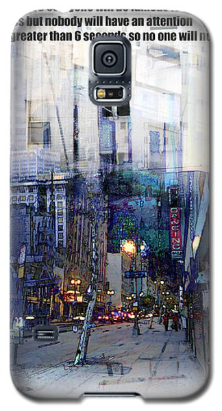 Fame On A Street Corner Galaxy S5 Case