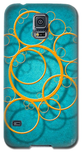 Galaxy S5 Case featuring the digital art Family Circles by Cristophers Dream Artistry