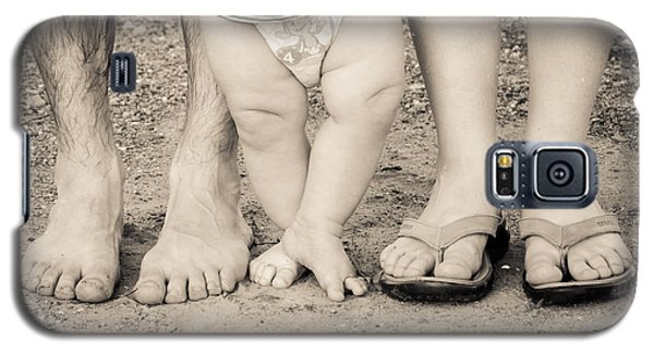Family Feets Galaxy S5 Case by Bill Pevlor