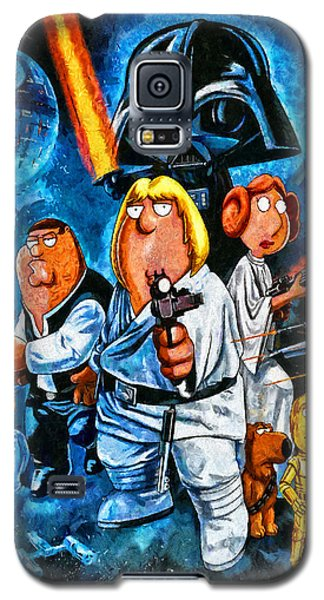 Family Guy Star Wars Galaxy S5 Case