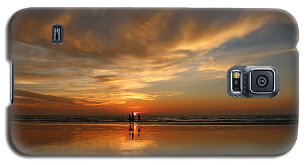 Family Reflections At Sunset - 2 Galaxy S5 Case