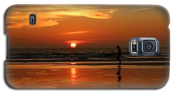 Family Reflections At Sunset - 4 Galaxy S5 Case