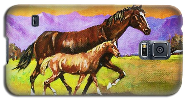 Family Stroll Galaxy S5 Case by Al Brown