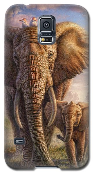 Cow Galaxy S5 Case - Family Stroll by Phil Jaeger