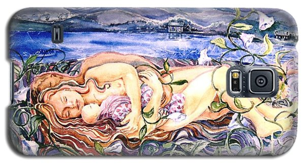 Galaxy S5 Case featuring the painting Family  by Trudi Doyle