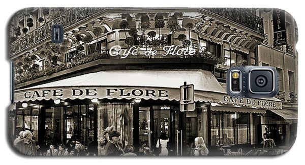 Famous Cafe De Flore - Paris Galaxy S5 Case