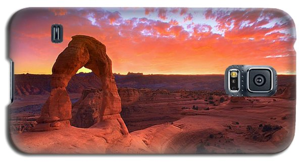 Landscapes Galaxy S5 Case - Famous Sunset by Kadek Susanto