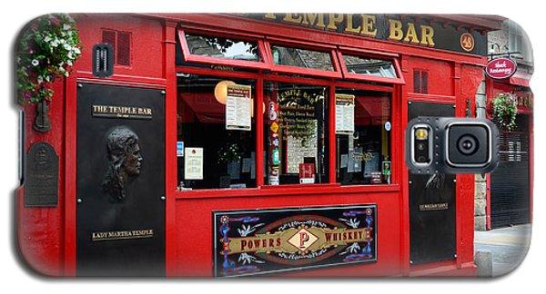 Famous Temple Bar In Dublin Galaxy S5 Case