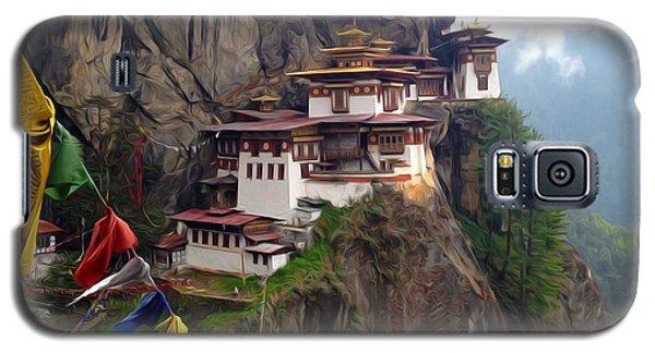 Famous Tigers Nest Monastery Of Bhutan 10 Galaxy S5 Case
