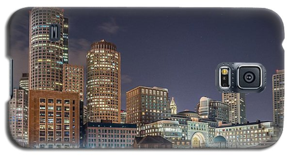 Fan Pier Boston Ma On A Hot July Night Galaxy S5 Case