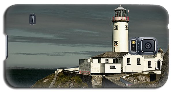 Galaxy S5 Case featuring the photograph Fanad Head Lighthouse by Jane McIlroy