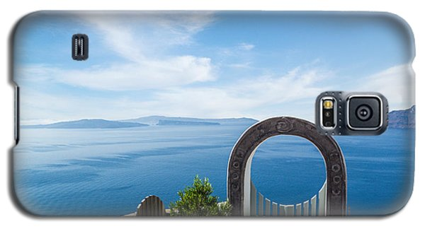 Fanastic View From Santorini Island Galaxy S5 Case