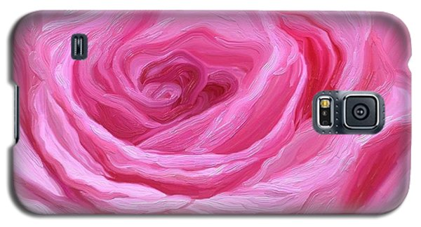 Fanciful Pink Galaxy S5 Case