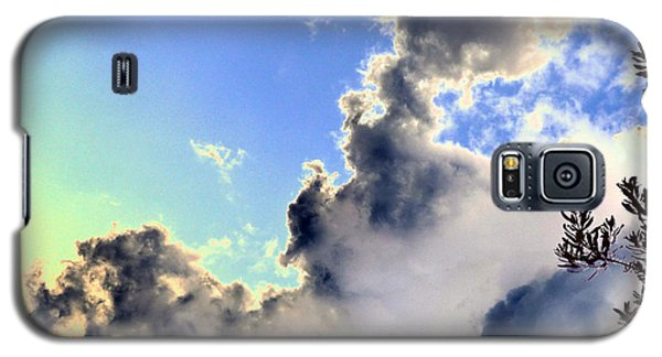 Galaxy S5 Case featuring the photograph Fanciful Sky by Jim Whalen