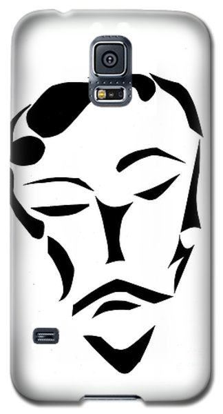 Galaxy S5 Case featuring the digital art Fancy Man by Delin Colon