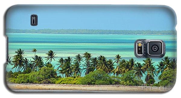 Fanning Island Galaxy S5 Case
