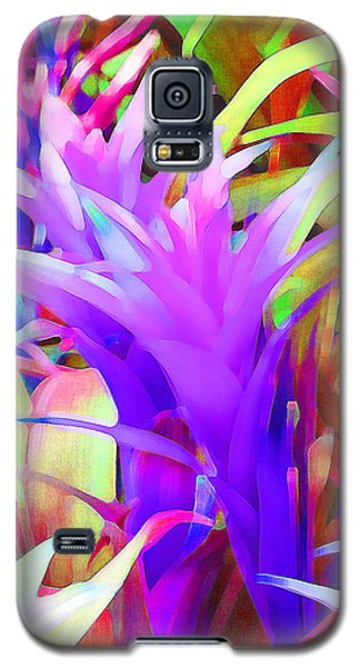 Fantasy Bromeliad Abstract Galaxy S5 Case