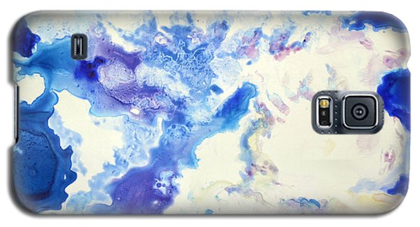 Galaxy S5 Case featuring the painting Fantasy Cloud by Joan Hartenstein