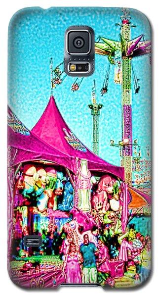 Galaxy S5 Case featuring the digital art Fantasy Fair by Jennie Breeze