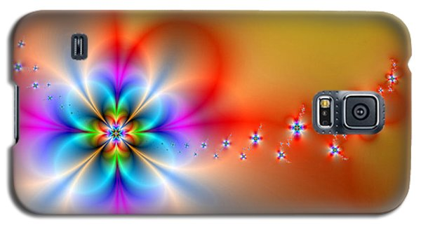 Fantasy Flowers 2 Galaxy S5 Case by Ester  Rogers