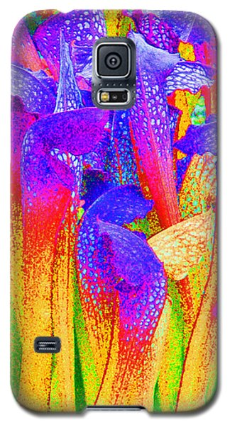 Galaxy S5 Case featuring the photograph Fantasy Flowers by Margaret Saheed