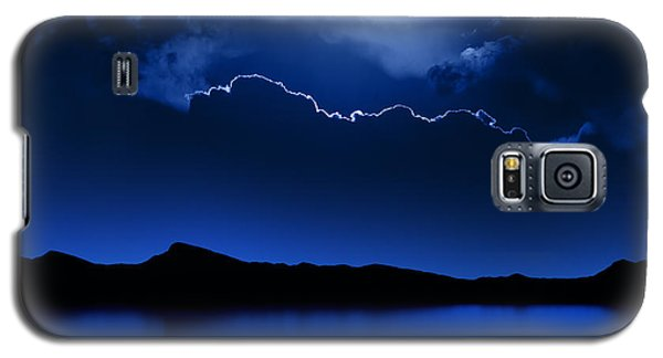 Fantasy Moon And Clouds Over Water Galaxy S5 Case