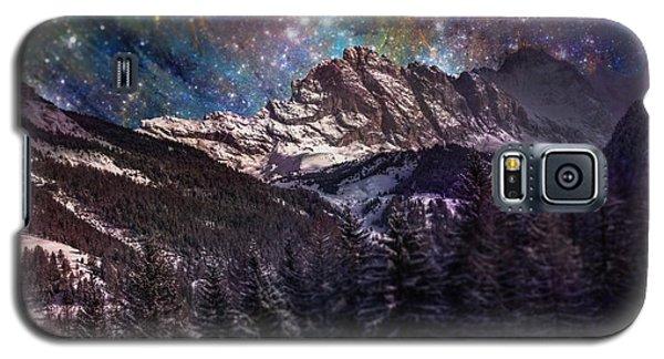 Fantasy Mountain Landscape Galaxy S5 Case