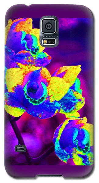 Galaxy S5 Case featuring the photograph Fantasy Orchids 2 by Margaret Saheed
