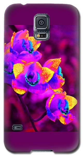 Fantasy Orchids Galaxy S5 Case