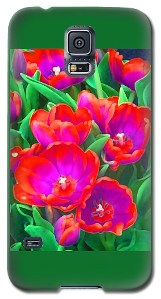 Fantasy Tulip Abstract Galaxy S5 Case
