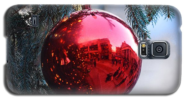 Faneuil Hall Christmas Tree Ornament Galaxy S5 Case