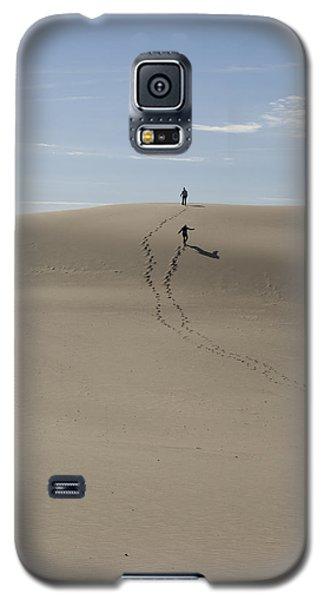 Galaxy S5 Case featuring the photograph Far Away In The Sand by Tara Lynn