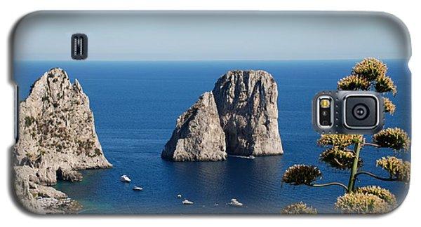 Faraglioni In Capri Galaxy S5 Case by Dany Lison