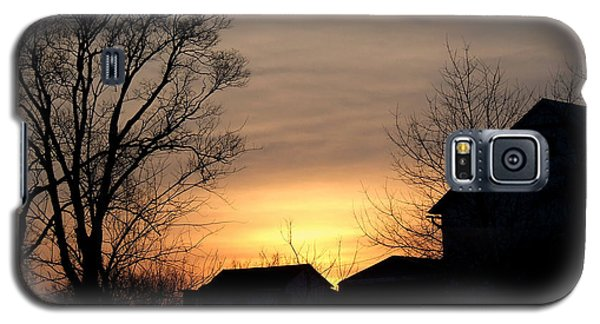 Farm At Dusk Galaxy S5 Case