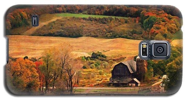 Farm Country Autumn - Sheldon Ny Galaxy S5 Case